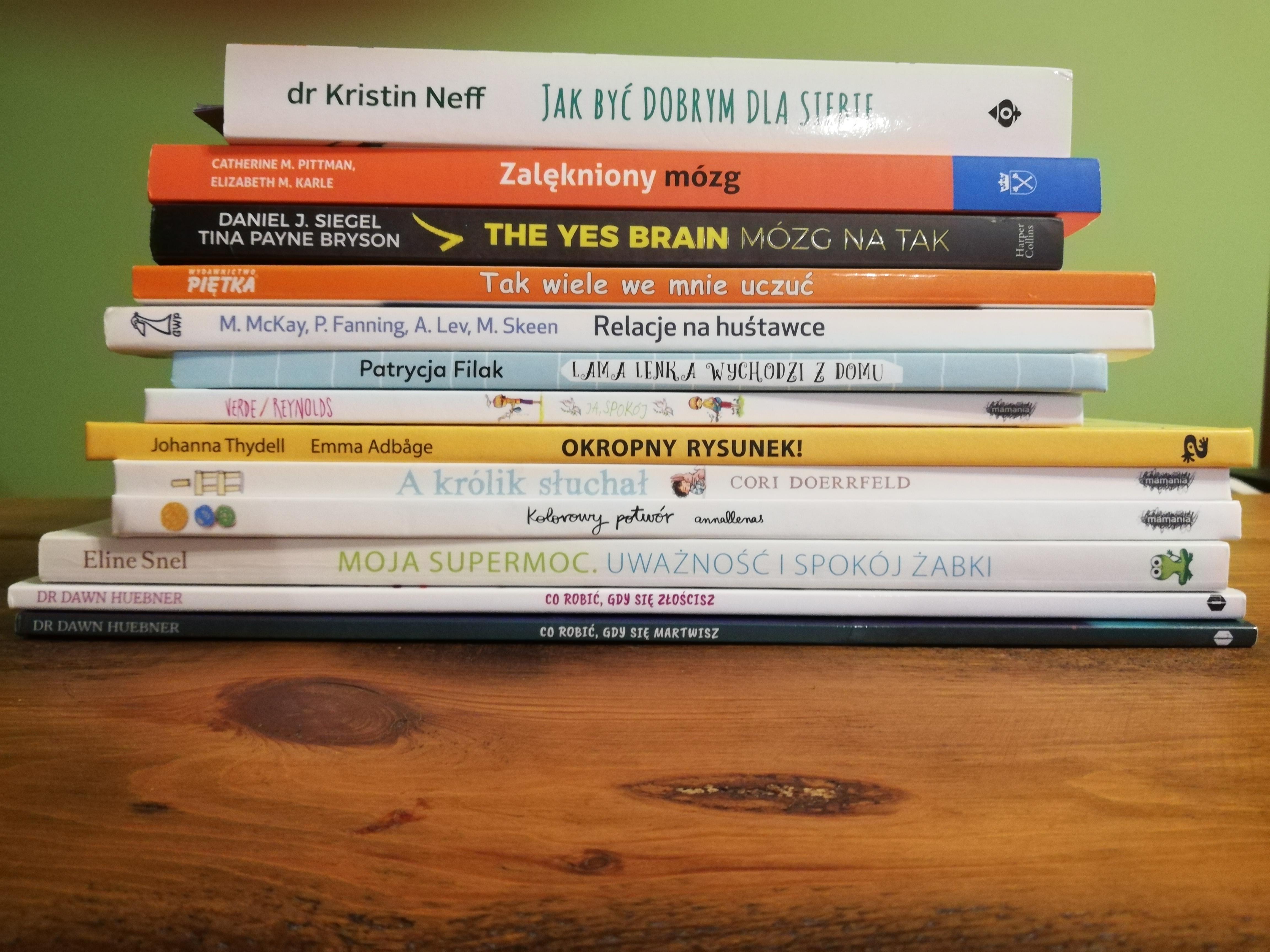 książki psychologiczne 2018